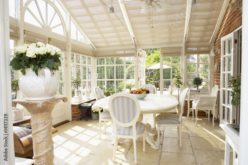 Interior Of Modern Conservatory - 14117339