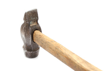 Work tool series: Old hammer
