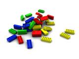 lego blocks poster