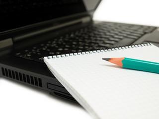 Pencil & notebook
