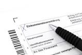 Einkommensteuer poster