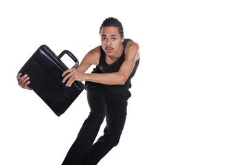 runaway briefcase