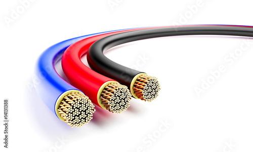Leinwandbild Motiv wires