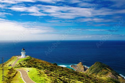 Fotobehang Nieuw Zeeland Cape Reinga Lighthouse, New Zealand