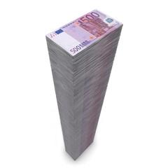 Big Pile of Money - 500 Euro Notes