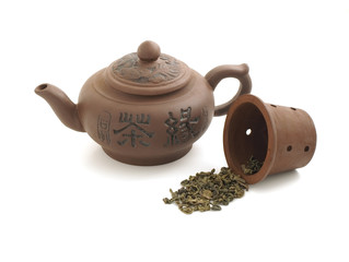 clay chinese teapot