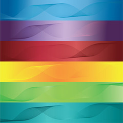color cards abstract vector set