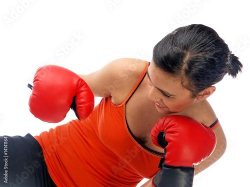Plexiglas Vechtsporten boxen für selbstverteidigung & fitness