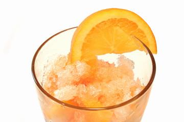 granita all'arancia