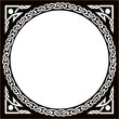 Celtic Circle Black