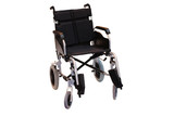 A Manual Wheelchair for a Disabled Person. poster