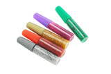 Colorful glitter glue