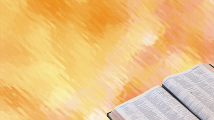 Bible with Motion Background