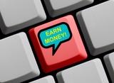 Earn Money - Im Internet viel Geld verdienen poster