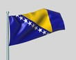 Nationalflagge Bosnien-Herzegowina