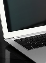 Super-slim laptop computer
