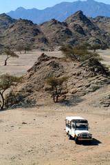 Wadi el Gimal National Park - Deserto con jeep