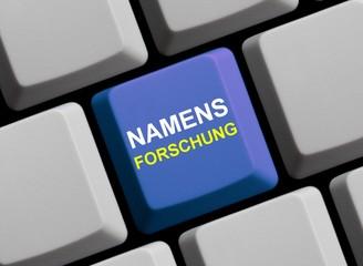 Namensforschung im Internet