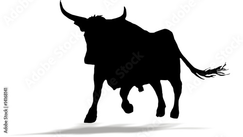 Schwarzer Stier