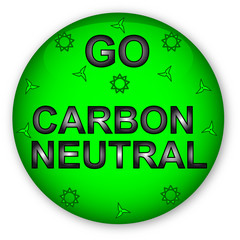 Glassy Button Go Carbon Neutral 010