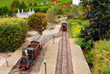 model of the railway in the open-air museum in the Netherlands