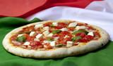 Fototapety Pizza pomodorini freschi