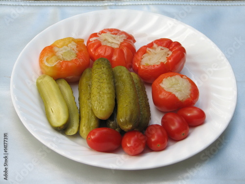 pickles, assorted