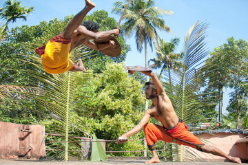 Kalarippayat,fight in air,  indian ancient martial art