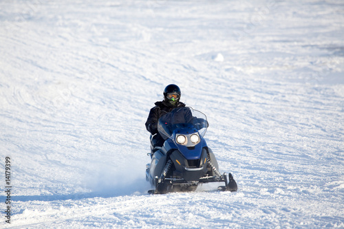 Foto op Canvas Antarctica 2 Snowmobile