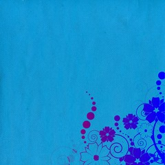 fond bleu et overlay dégradé