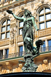 Hamburg, Rathaus, Hygieiabrunnen