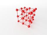 molecular crystalline lattice poster
