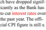 Interest Rates poster