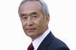 Portrait of businessman, close-up, cut out