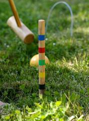 partie de croquet