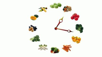 verdura fresca a tutte le ore