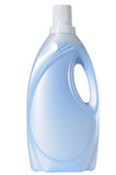 Detergent bottle. Clipping path.