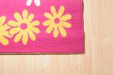 Floral carpet. poster
