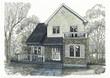 住宅パース、北ヨーロッパ