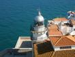 phare de peniscola dans la vieille ville