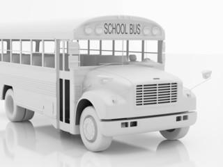 school bus a set three