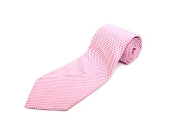 Pink neck tie