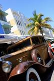 old car in Miami Beach-