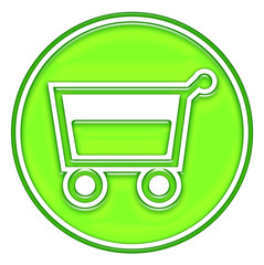 Shopping basket, cart button