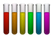 Test tube rainbow