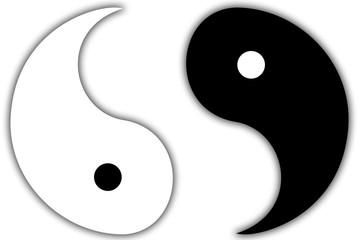 Yin & Yang gebrochen