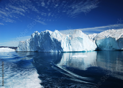 Leinwandbild Motiv Eisfjord - Discobucht - Grönland