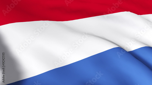 Moving Netherland flag