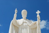 Pope Pio XII in Sanctuary of Fatima poster