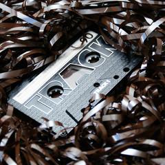 audio cassette bandsalat